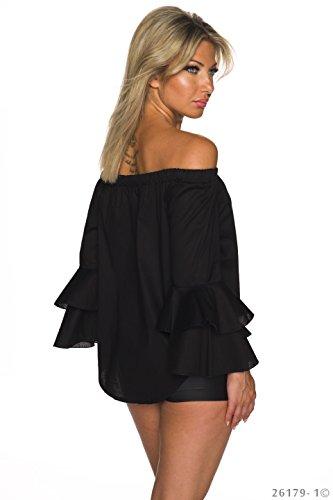 NCY Moda - Camisas - para mujer negro