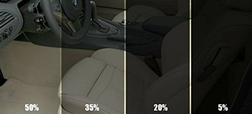 CAR WINDOW TINT FILM TINTING SUPER DARK BLACK LIMO 5% 76cm x 6M flexzon