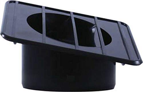 United Pacific C677215 1967-72 Chevy & GMC Truck Defroster Duct - Black