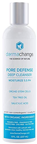 Natural Acne Wash Facial Blemish and Pimple Treatment - Deep Cleanser and Pore Minimizer - All Natural and Organic - Pimple Relief - Unclogs Pores for Clear Skin - For Women and Men (8oz) (Best Natural Pore Cleanser)