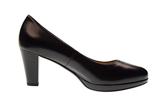 woman Black GIARDINI medium decollet 100 P805010D heel shoes NERO OnxFPn