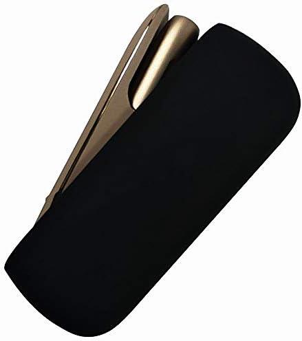 セントラルメディアマーケット名古屋本店 IQOS 3.0 MULTI アイコス マルチ 3 シリコン ケース シンプル 保護 軽量 簡単装着 衝撃吸収 (ブラック)