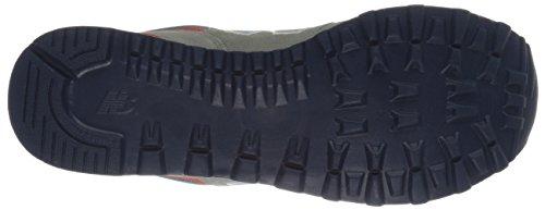 New Balance ML 574 - Calzado de primeros pasos para hombre Gris / Azul