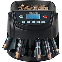 Steelmaster Coin Counter and Sorter (200200C)