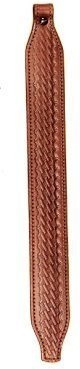 Basketweave Sling (AA&E Leathercraft 8502056-210 Leather Long Taper Sling, Brown)
