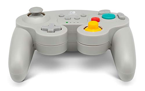 PowerA Wireless GameCube Style Controller for Nintendo Switch Grey 10