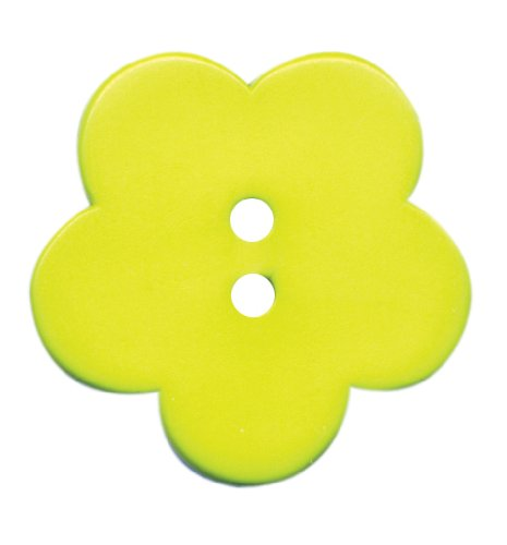 Jhb Buttons - JHB International Inc Posy Novelty Button, 1-Per Card, Lime Green