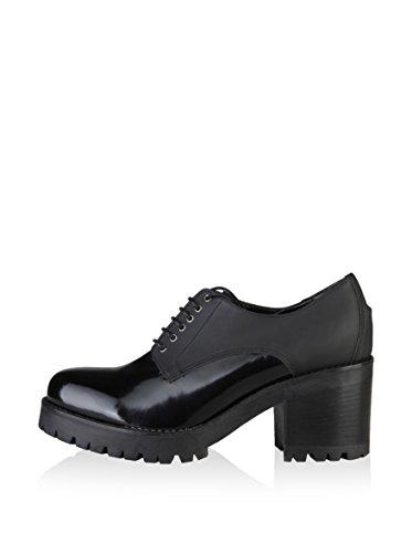 Ana Zapatos Lublin De Negro Cordones w1AUwqrW