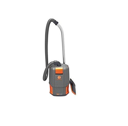 Hoover Commercial CH34006 HushTone Backpack Vacuum Cleaner 11.7 lb. Gray/Orange