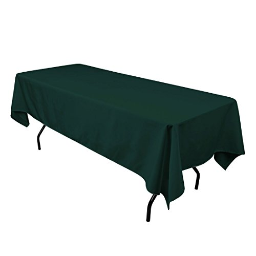 Gee Di Moda Rectangle Tablecloth - 60 x 84 Inch - Hunter Gre