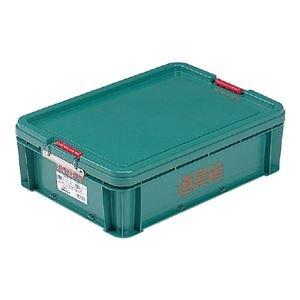 (業務用10個セット) 三甲(サンコー) 左官用道具箱/ツールボックス 【中】 グリーン(緑) 【代引不可】 B01MQ2M7E3
