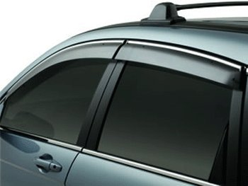 Honda Crv Door Visors (Genuine Honda Accessories 08R04-SWA-101 Door Visor for Select CR-V Models)