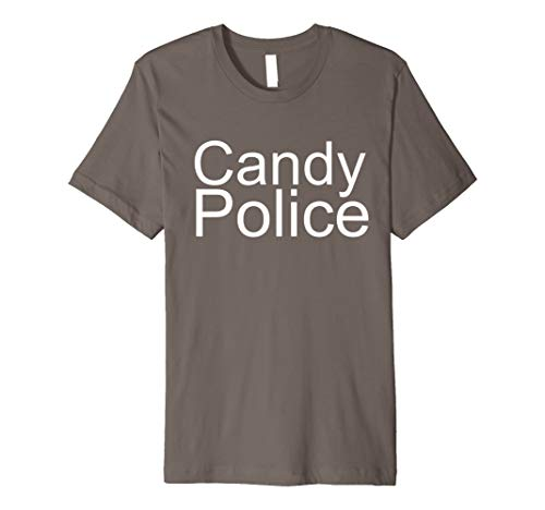 Candy Police Funny Halloween Costume Shirt for Mom or -