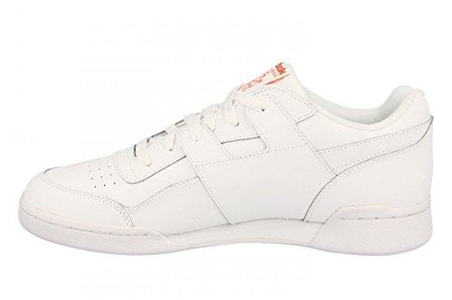 Workout de Gymnastique Mu Reebok Chaussures de Chaussures Plus Mu Plus Reebok Blanc Workout Homme Gymnastique PHxXUqHT