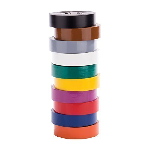 Purpose Electrical - NSi EWG Easy-Wrap General Purpose Electrical Tape, -7 to 80 Degree C, 60' Length x 3/4