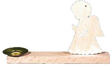 Unbekannt Holz Bastelset 3 D Kerzenhalter Engel Natur