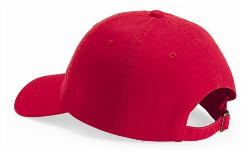 Bio Washed Unstructured Cap - Valucap by Sportsman Youth Bio Washed Unstructured Cap. VC300Y - Red