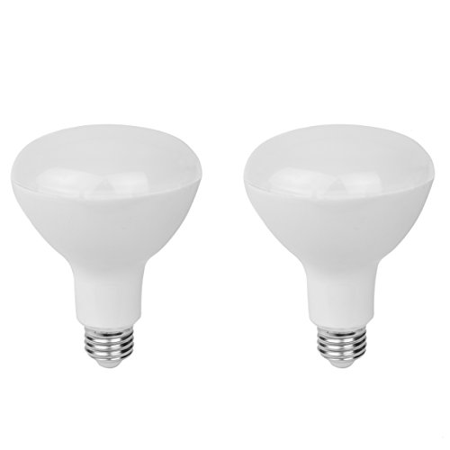 (2-Pack Rysa Light BR30 LED Bulb,5000K(Daylight Glow),15 Watt (100W Equivalent),Dimmable,1350LM,White Light for Recessed and Track Lighting Fixtures,UL-listed and Energy Star Approved)