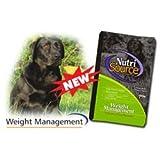 Nutrisource Weight Management Dog Food, 18 Pound