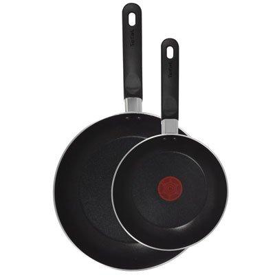 Tefal Taste Bratpfannen, Doppelpack 20cm und 28cm–A157B245