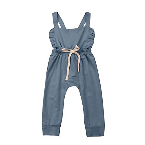 Homemade Hippie Outfits - WOCACHI Newborn Baby Girls Jumpsuits Bowknot