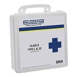 ERB Safety 28890 Ansi 2015 Class B First Aid Kit, Plastic Box, 4\