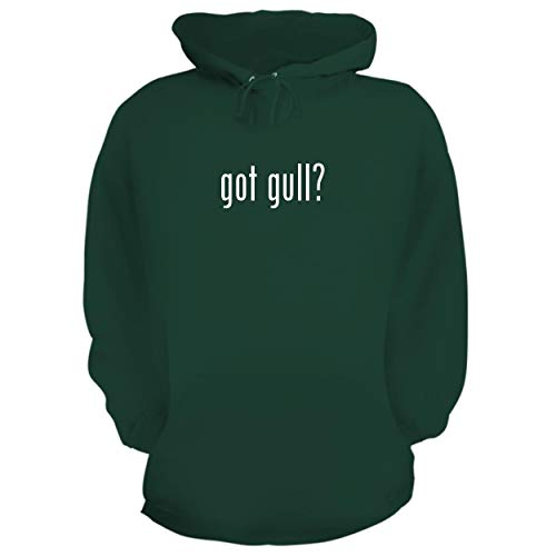 06 Flush Mount Wing - BH Cool Designs got Gull? - Graphic Hoodie Sweatshirt, Forest, X-Large