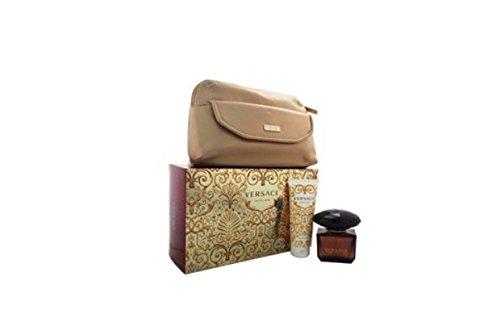 Versace Crystal Noir By Versace for Women Gift Set (Noir Crystal Gel Shower)