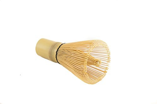 BAMBOO WHISK by KINETA TM: 100 Prong bamboo Chasen Matcha whisk for Green Tea Powder and smooth creamy taste.