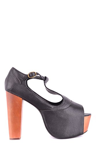 Campbell Sandals Black MCBI163044O Leather Jeffrey Women's dfgqnAAx