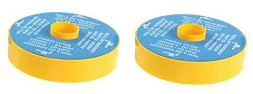 2 Dyson DC07 Primary Washable Blue Foam Filters, Generic For Dyson Part 904979-02. 2 Pack (Seal Dc07 Dyson)