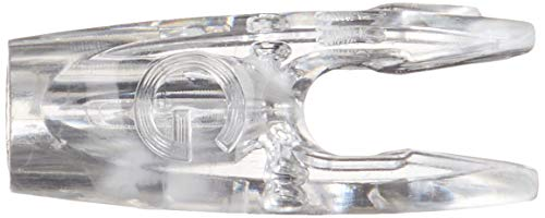 - Easton G Pin Nock Large Groove Crystal 12 PK. Clear, F/G Nock