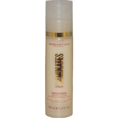 Laminates Sheer Smoothing Weightless Shine Anti Static Andthermal Styler by Sebastian, 3.4 Ounce