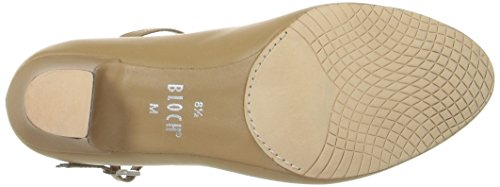 Bloch Dance Donna Broadway Lo Character Shoe Tan