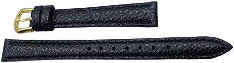 〔セイコー〕SEIKO 時計バンド 12mm DAD9R 牛革シュリンク 黒 レディース