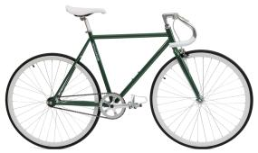 Critical Cycles Hunter Green Fixie (Single-Speed Fixed-Gear Urban Commuter Bicycles)