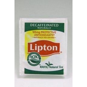 Lipton® Tea Naturally Decaffeinated (Box of 144)