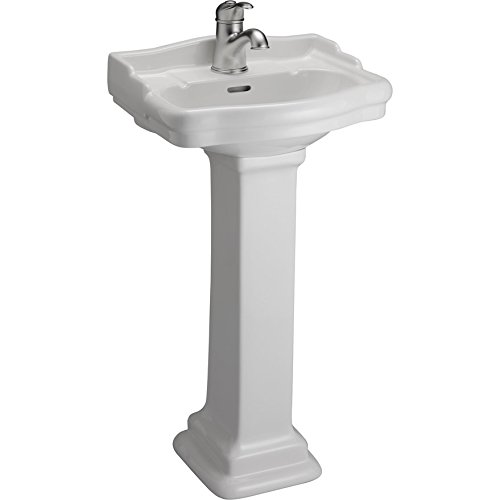 B/3-871WH Stanford 460 Basin One-Hole White