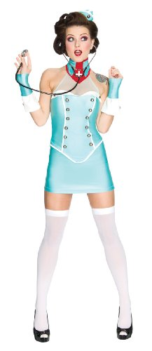 [Secret Wishes Poison Costume, Blue, Small] (Fantasy Themed Costume)