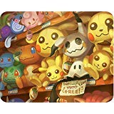 Mouse PAD - MIMIKYU - 10'X8.5' - Soft Fabric TOP - Non Slip Rubber Bottom