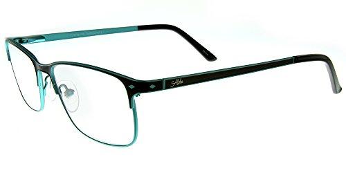 Aloha Eyewear Tek Spex 1013 Unisex RX-Able Reader Glasses / Sunglasses with Progressive Photochromic Lens (Brown - Photochromic Prescription Glasses