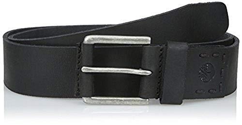 (Timberland Men's 40MM Pull Up Jean Belt Black 1 34)