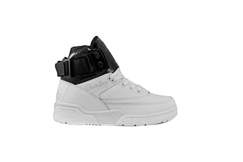 PATRICK EWING Athletics 33 Hi White/Black Patent 1EW90190-112