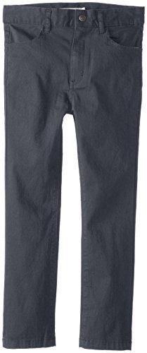 Appaman Big Boys' Skinny Twill Pants, Vintage Black, 10