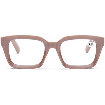 010c47e3f0f Retro Desinger 50mm Large Lens Square Reading Glass Big Eyeglass Frames  (Coffee