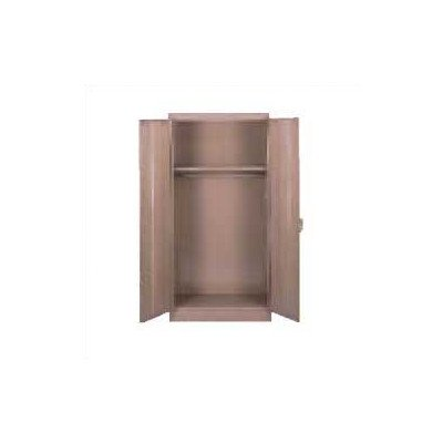 2 Door Storage Cabinet Color: Medium Grey