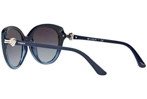 Vogue - VO 5060S, Oeil de chat, propionate, femme, BLUE SHADED/GREY SHADED(2412/8G), 53/19/135