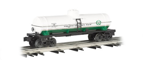 O Gauge Rolling Stock (Williams by Bachmann Single-Dome Tank Car Quaker State - O Scale)