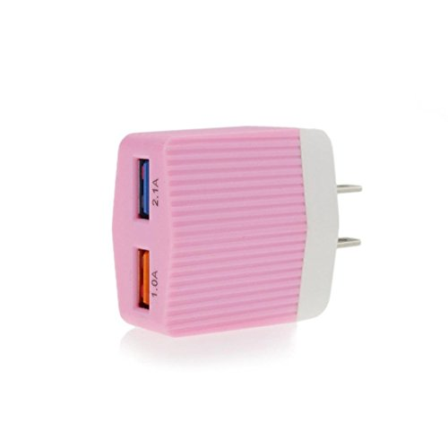3.0A Hi-speed USB 2.0A Male to Micro USB Sync Charging Cable (Pink) - 6
