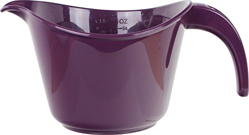 Reston Lloyd 92502 Microwave Safe Calypso Basic 2 Quart Mixing Batter Bowl, -